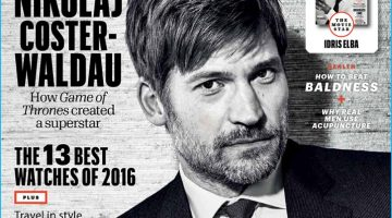 Nikolaj Coster-Waldau Covers Esquire Middle East, Praises Younger GOT Co-Stars