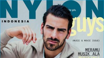 Nyle DiMarco Goes Casual for Nylon Guys Indonesia Cover Shoot