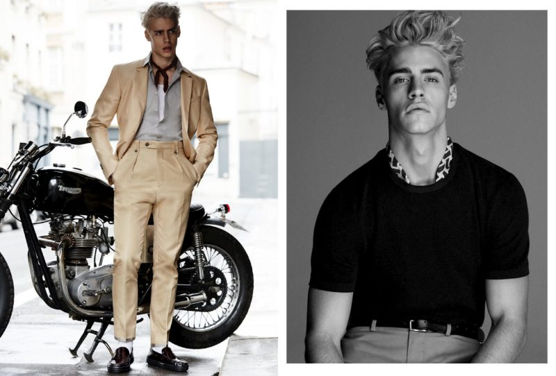 Oliver Stummvoll photographed by Alvaro Beamud Cortes for GQ China.