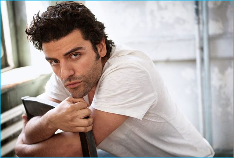 Oscar Isaac photographed by Mark Seliger for Rolling Stone.