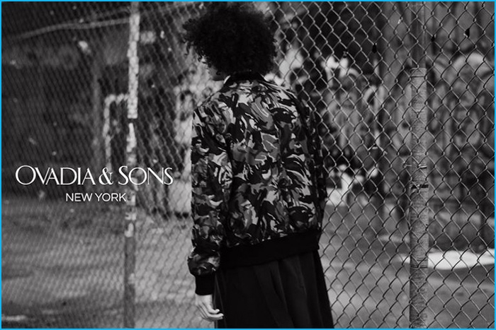 Tre Samuels styled by DaVian Lain for Ovadia & Sons.