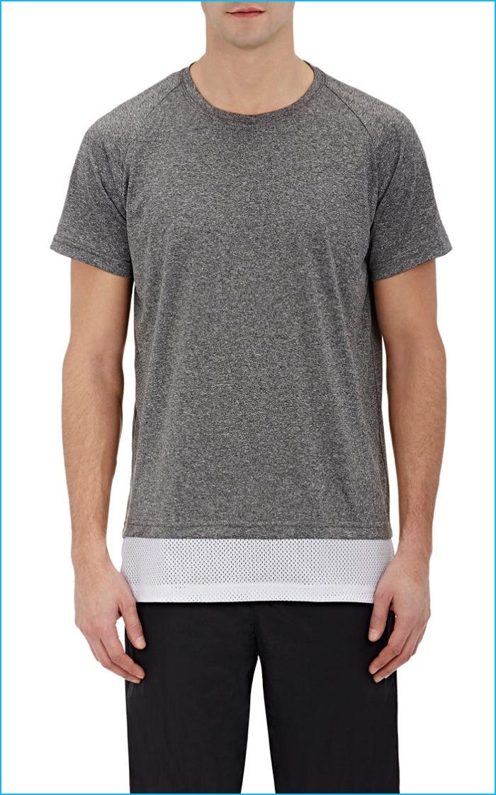 Ovadia & Sons Mesh Hem Tech Jersey T-Shirt