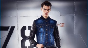 Philipp Plein Puts Spotlight on Leather for Pre-Fall