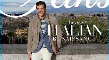 The New Italian Renaissance: Saks Fifth Avenue Travels to Italy for Latest Catalogue