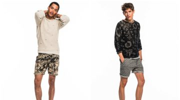 Scotch & Soda Adds a Playful Splash to Summer Style with Printed Shorts