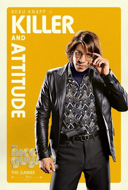 Beau Knapp for The Nice Guys movie poster artwork.