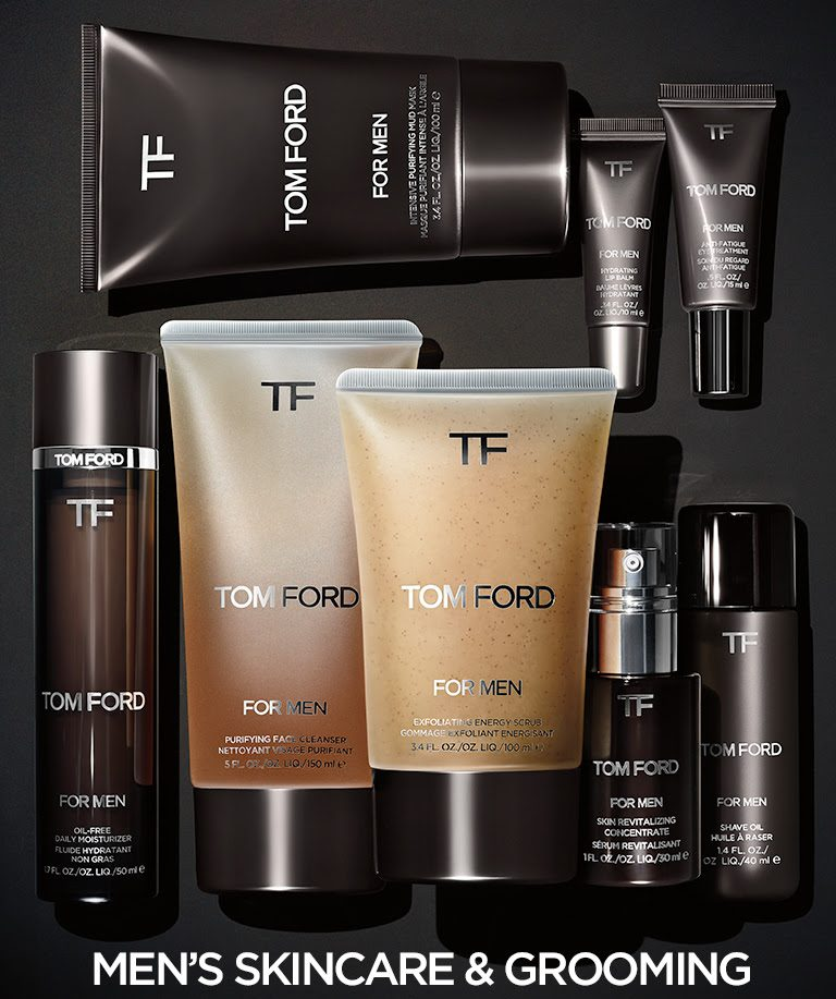 tom ford expands men s grooming line the fashionisto. Black Bedroom Furniture Sets. Home Design Ideas