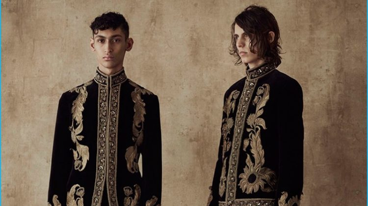 Alexander McQueen Looks East to India for Spring Collection