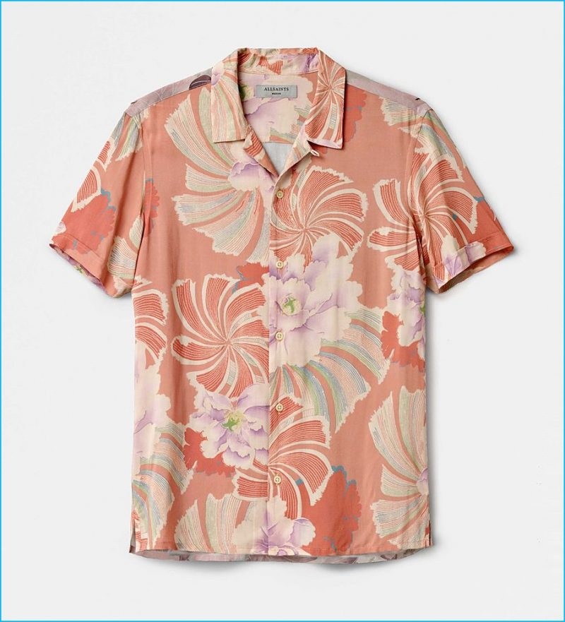 AllSaints Helix Hawaiian Shirt