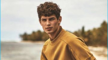 Arthur Gosse Models Easy Summer Styles for L'Officiel Hommes España