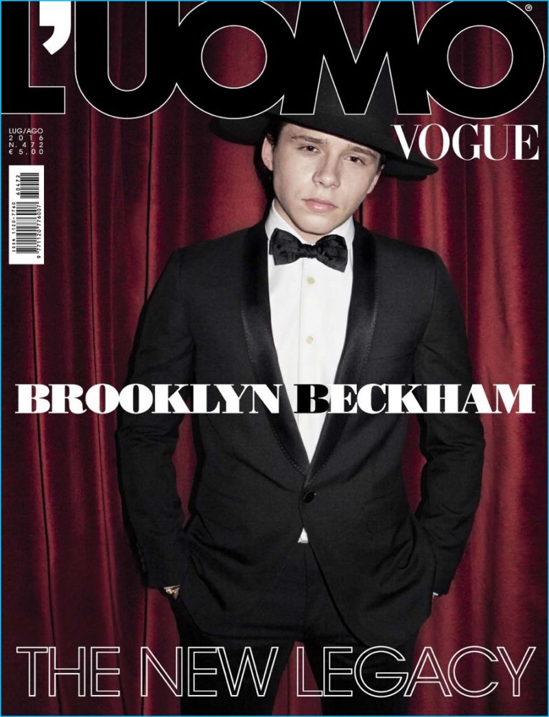 Brooklyn Beckham Covers L'Uomo Vogue, Talks Fashion & Photography