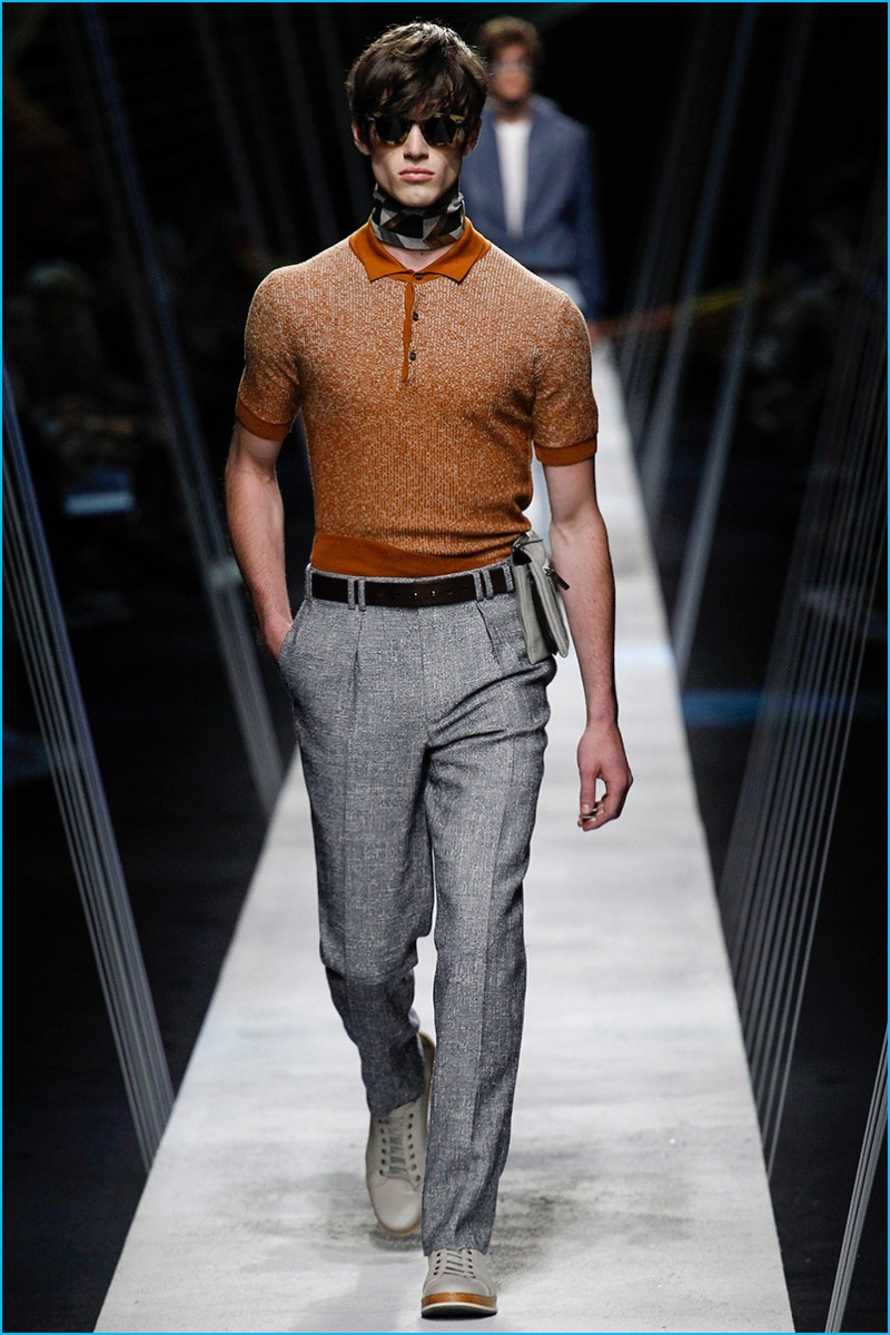 Canali 2017 Spring Summer Runway Collection
