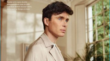 Razor Sharp: Cillian Murphy Dons Dashing Coats for Esquire UK