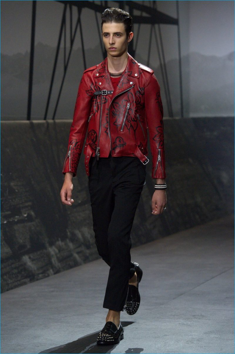 619e567fbc Revisiting style icons such as the leather biker jacket