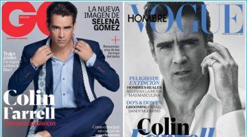 Colin Farrell Covers GQ México & Vogue Hombre