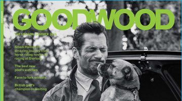 David Gandy Covers Goodwood, Embraces Classic Style