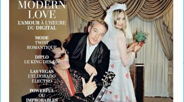 Diplo Couples Up with Marloes Horst for L'Officiel Cover Shoot