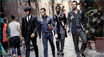 Dolce & Gabbana Travels to Naples for Fall Campaign