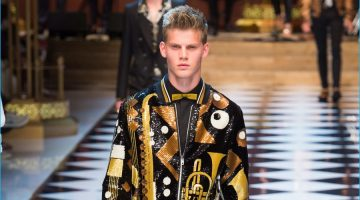 Dolce & Gabbana Explores Music Genres for Festive Showing