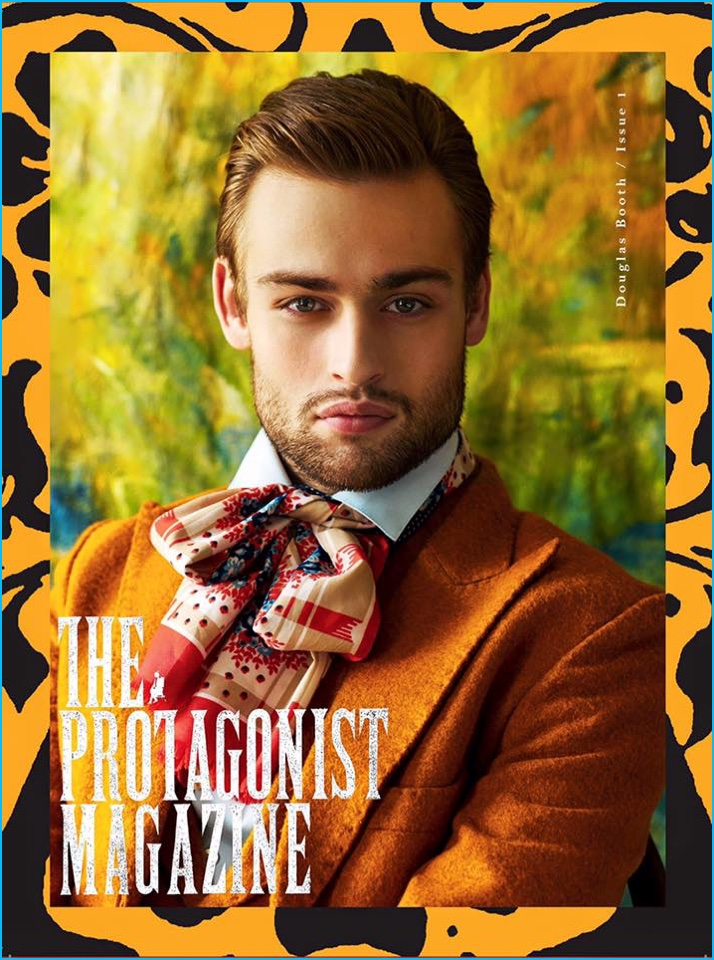 Douglas Booth covers The Protagonist magazine in Helen Anthony.