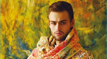 Douglas Booth Does Dandy Style for The Protagonist