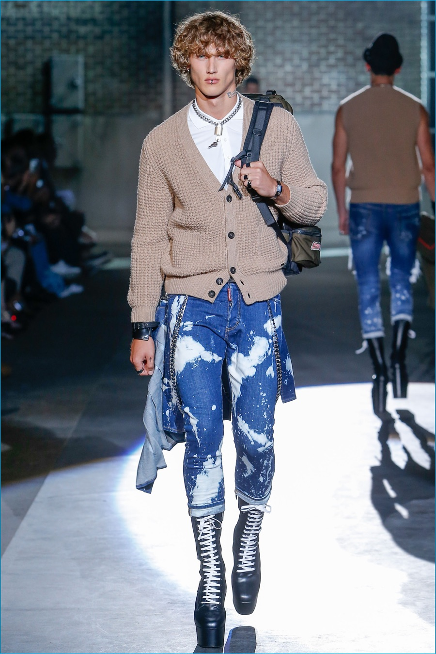 Dsquared2 2017 Spring Summer Runway Collection The