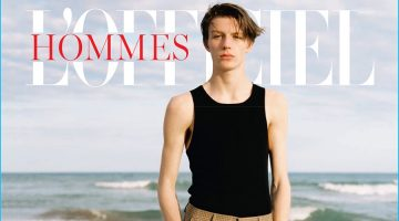 L'Officiel Hommes Germany Takes to the Beach for Summer Editorial