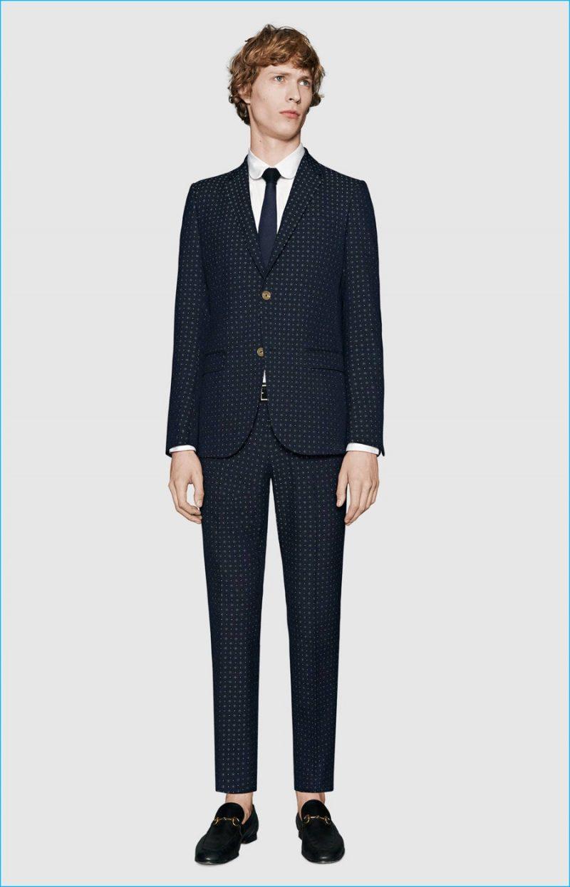 Gucci Monaco Jacquard Suit
