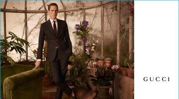 Gucci Gets a Mature Facelift for Fall Tailoring Campaign