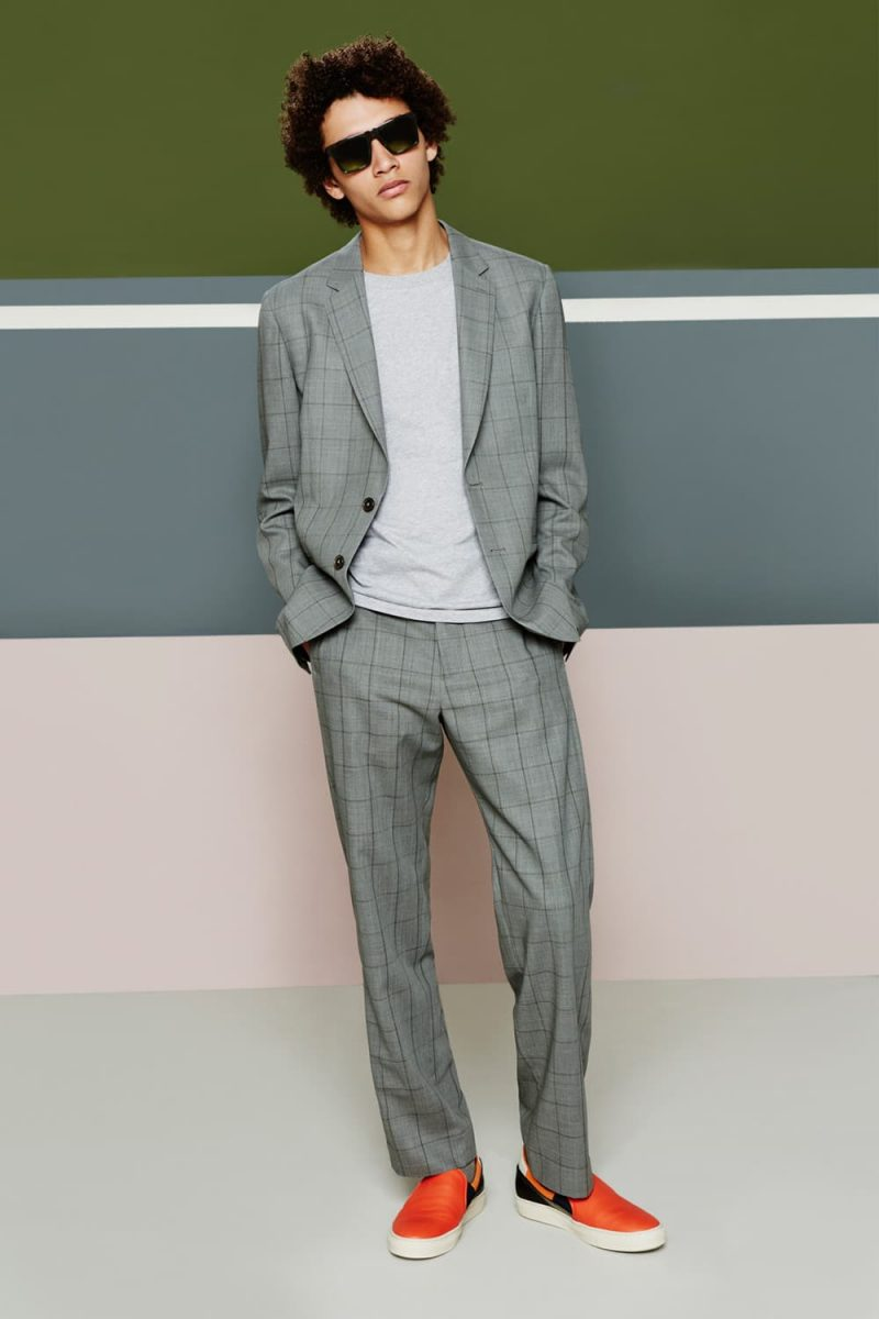 Jackson Hale embraces summer tailoring with Paul Smith.