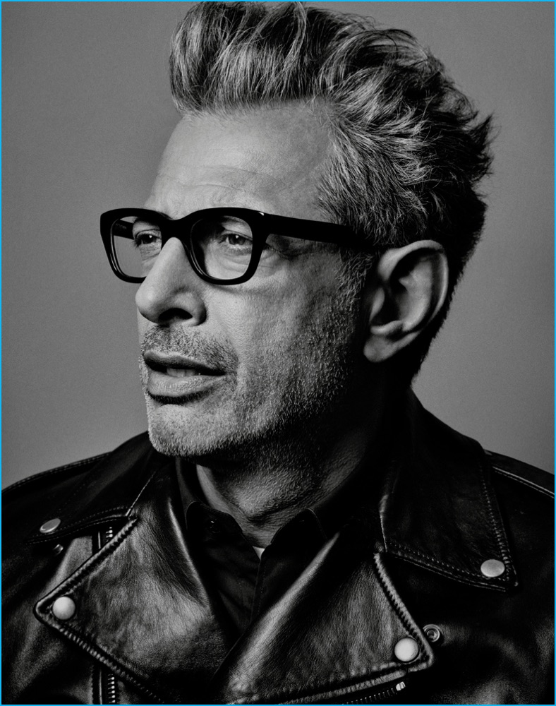 Jeff Goldblum photographed by Craig McDean for Interview magazine.