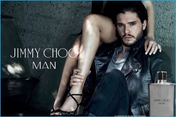 e1d3d259f788 Flashback  Game of Thrones actor Kit Harington for Jimmy Choo Man fragrance  campaign.
