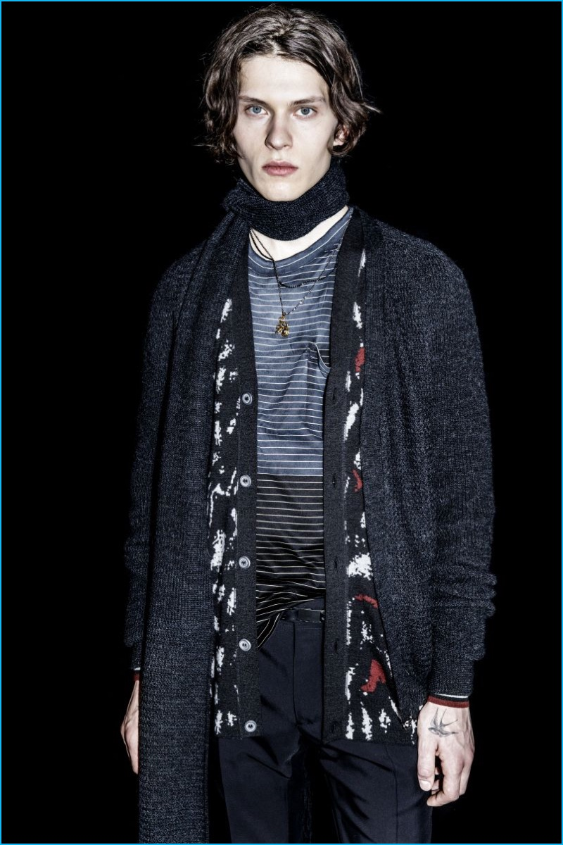 Lanvin has a knit moment with a pair of must-have cardigans for fall.