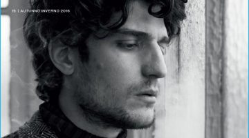 Louis Garrel Pulls Off Moody for L'Officiel Hommes Italia Cover Shoot