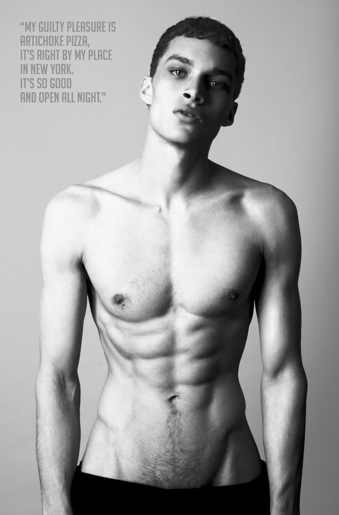 Louis Mayhew photographed by Anthony Meyer for Peplvm.