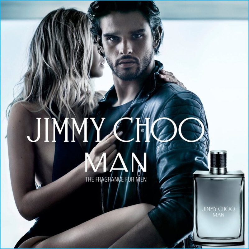 534cc156fecd Brazilian model Marlon Teixeira stars in the latest campaign for Jimmy Choo  Man.