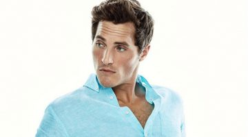 Men's Summer Update: Ollie Edwards for Massimo Dutti