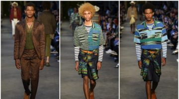 O'Shea Robertson, Michael Lockley + More Hit the Missoni Catwalk