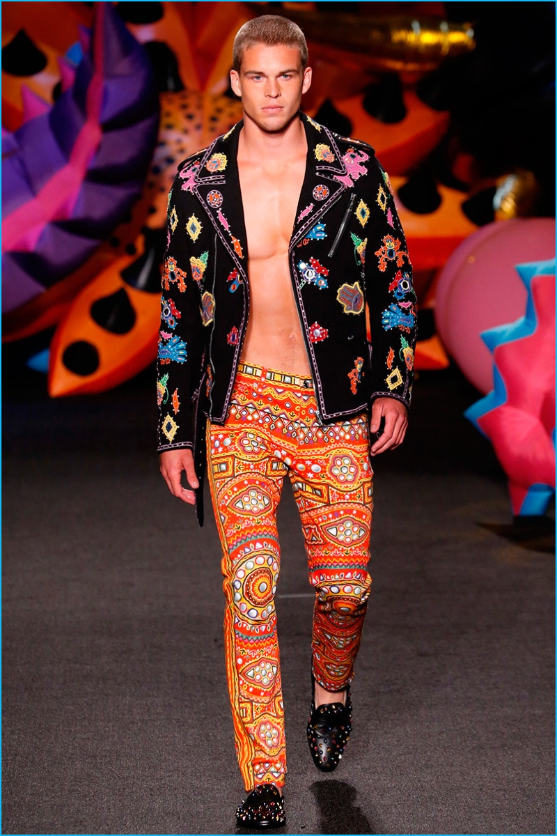 Moschino Men 2017 Spring Summer Collection The Fashionisto