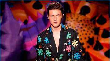 Moschino Makes a Groovy Spring Statement