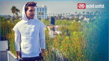 Prince Royce Goes Sporty for Ecko Fall Campaign