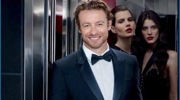 Simon Baker Reunites with Givenchy for Gentleman Only Absolute Fragrance Campaign