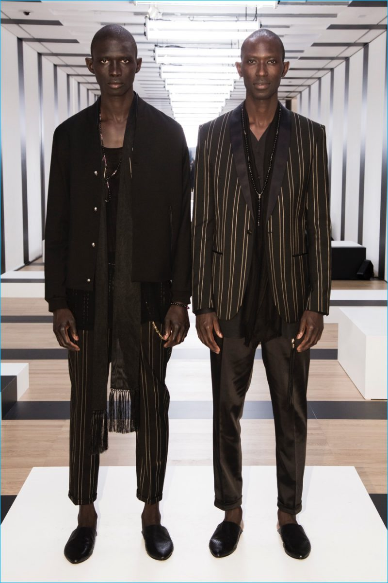 Brothers Fernando and Armando Cabral join The Kooples for its spring-summer 2017 presentation.