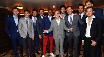 Tommy Hilfiger Celebrates London Collections: Men with a Boy's Night