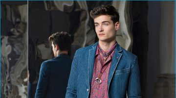 Trussardi Finds a Stylish Split Personality for Spring