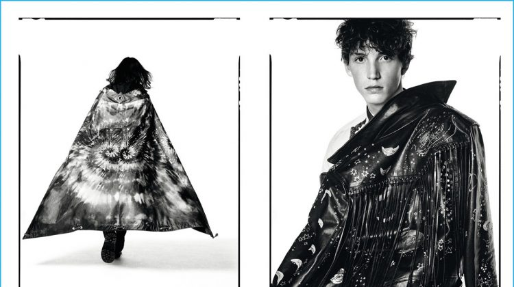 Valentino Unveils Black & White Portraits for Fall Campaign