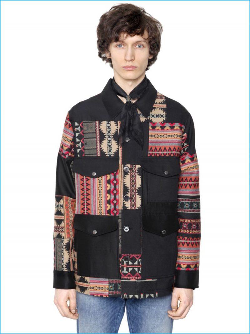 Valentino Patchwork Jacket