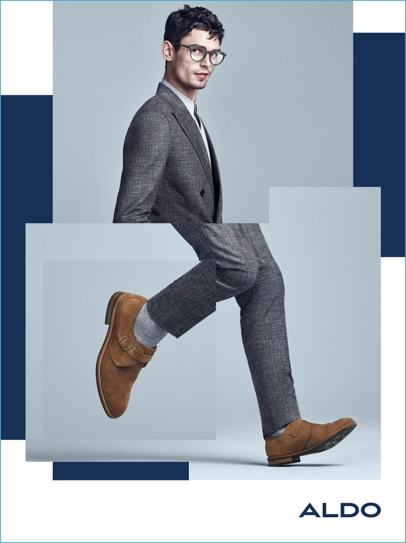 Arthur Gosse Suits Up And Dons Glasses For Aldos Fall Winter 2016 Mens Campaign