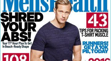 Alexander Skarsgård Covers Men's Health UK, Talks Bulking Up for 'The Legend of Tarzan'
