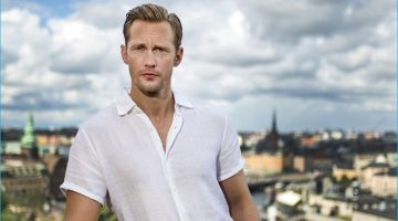 Alexander Skarsgård is Our Casual Partner in Smart Style